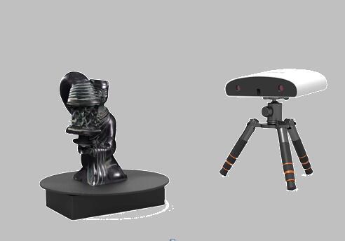 知象ScanKing210桌面扫,入门级三维扫描仪、便携式三维扫描仪、3D扫描仪