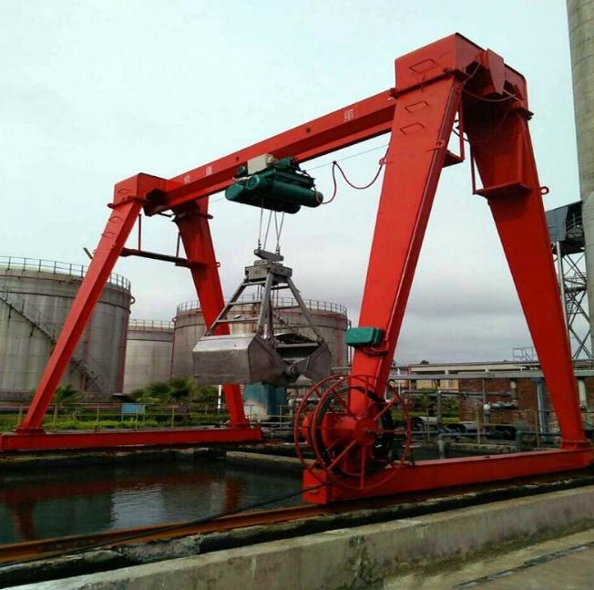 供应轨道行走式单梁龙门吊5吨单梁轨道龙门吊MH型出口单梁轨道龙门吊