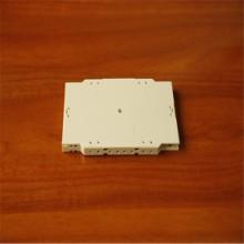 6芯ABS 光缆接续盒ABS光纤熔接盘 一体化熔纤盘图片