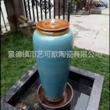 景德镇陶瓷流水大花瓶摆件