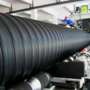 钢带管(岚皋)PE钢带增强波纹管图片