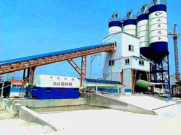 供应混凝土输送泵管配备砂石分离机(浆水搅拌回收装置