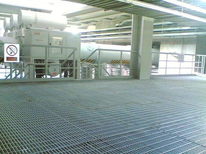 烟厂钢格栅板图片/烟厂钢格栅板样板图 (1)