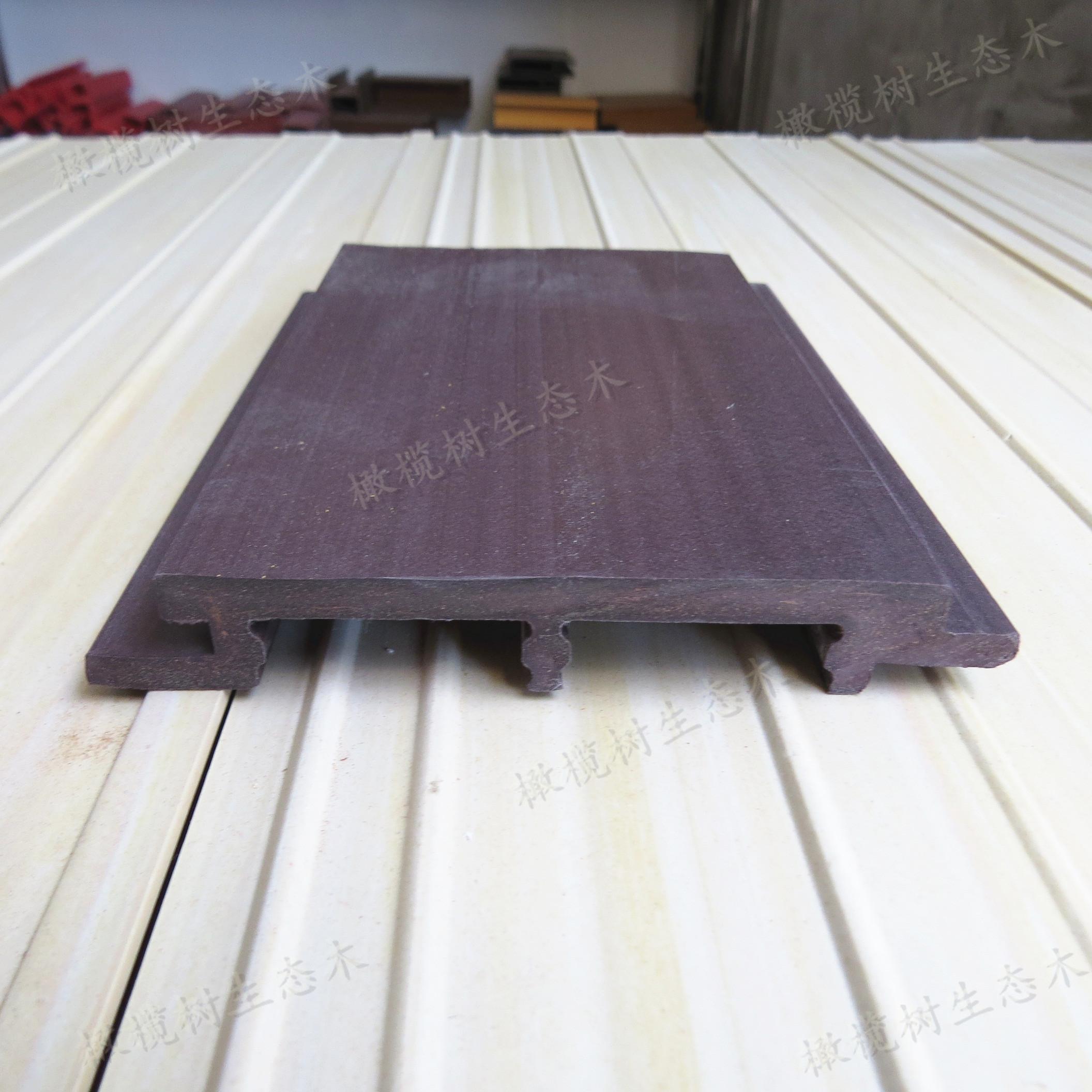 墙面装修材料背景墙 木塑板覆膜墙裙 竹纤维墙板600大板护墙板背景墙
