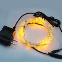 LED铜线灯串5V10米100灯含电源套装