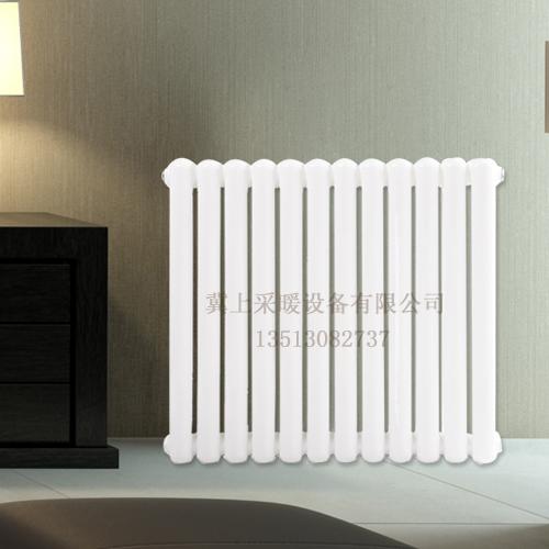 冀上钢二柱散热器、钢二暖气片、钢制柱型散热器、工程钢制暖气片 钢制二柱 钢制二柱、钢二柱