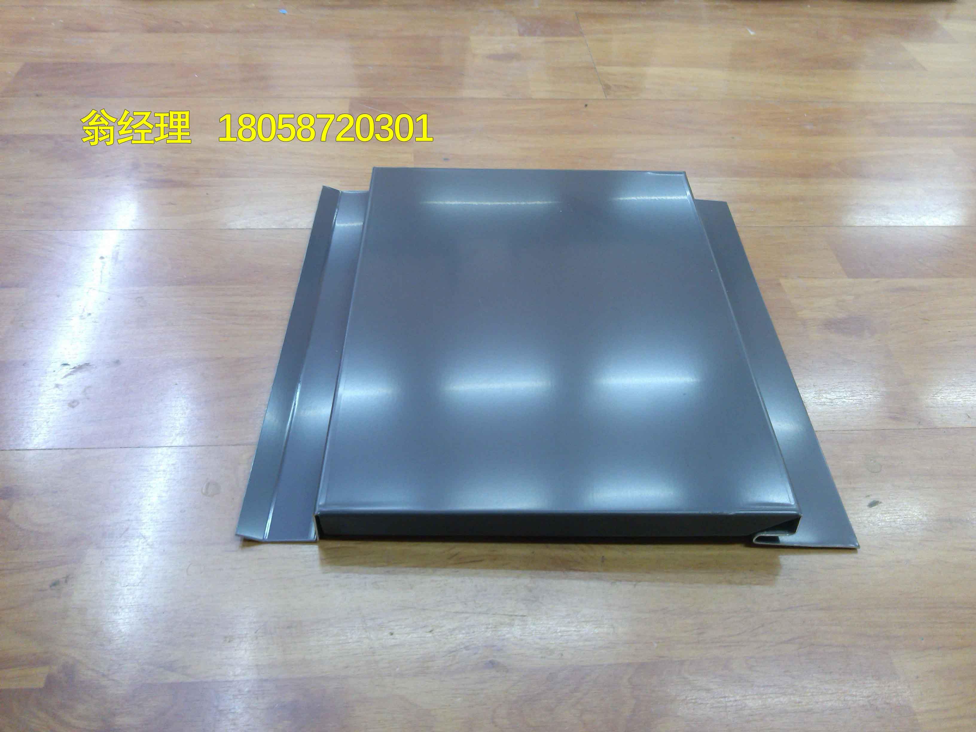 350型外墙装饰板隐藏式侧嵌板
