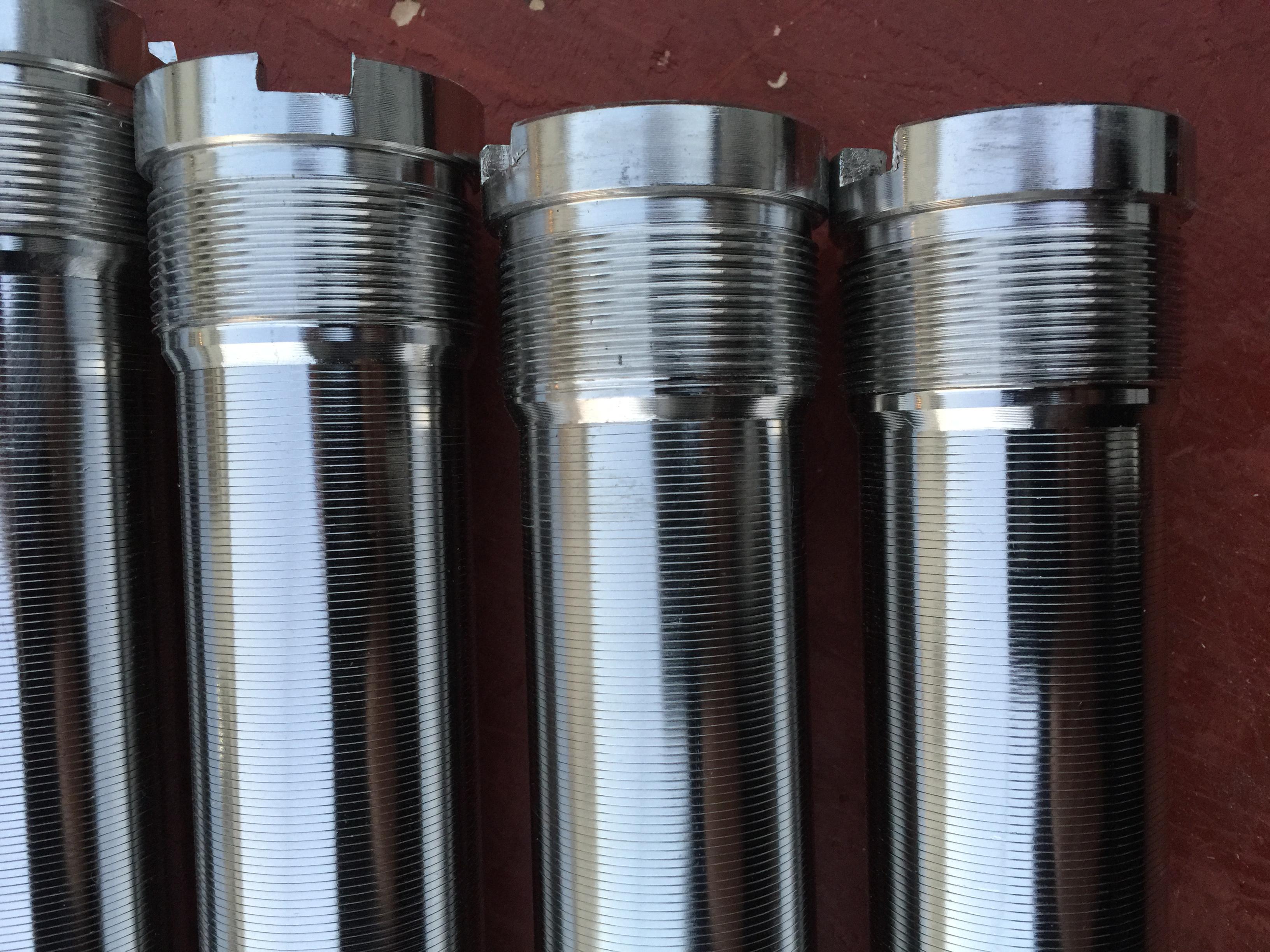 广兴滤材供应trislot滤芯,不锈钢T型丝滤芯,缝隙管,精度10微米