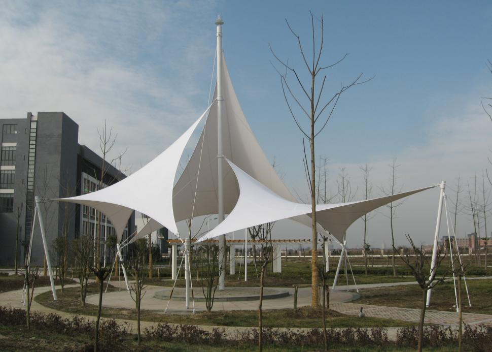 羽毛球馆顶棚 篮球场膜结构