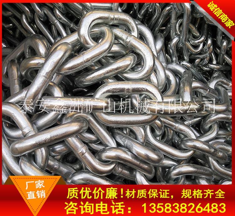【厂家直销】锰钢链条 镀锌链条 G80起重机链条 5-42MM 可定做
