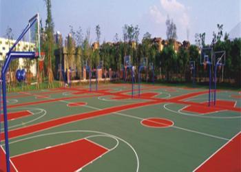珠海篮球场材料厂家网球场工程图片