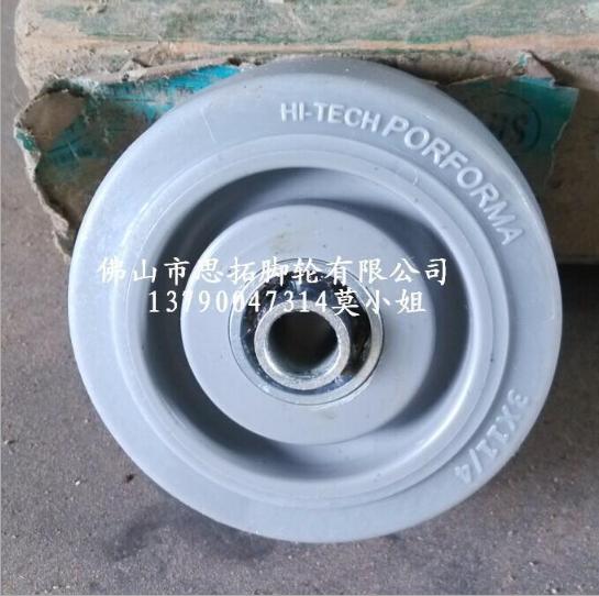 静音橡胶轮图片/静音橡胶轮样板图 (2)
