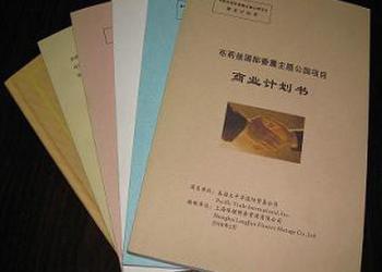东莞代写商业计划书价格图片