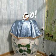 陶瓷养生汗蒸缸图片