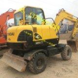 河南60轮胎挖掘机 60轮胎挖掘机价格 供应商 胶轮挖掘机
