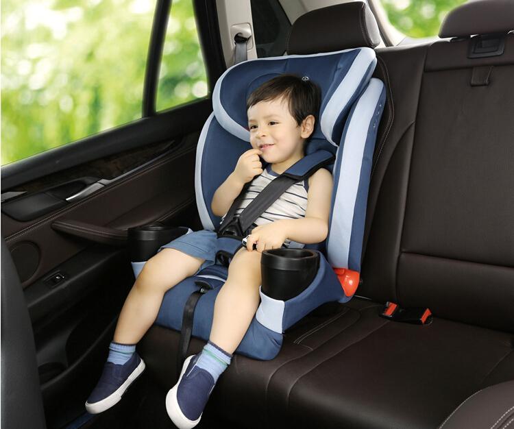 步达达安全座椅雅骑士D600蓝色9个月-12岁 德国步达达BUDADA儿童安全座椅