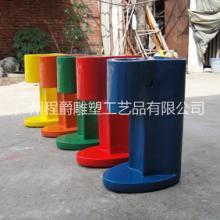 廣州玻璃鋼雕塑定做,玻璃鋼仿真雪糕機殼造型,廣州玻璃鋼雕塑價格批發