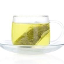 各种规格的低农绿茶片 茶叶原料 袋泡茶原料 14-60目茶片批发
