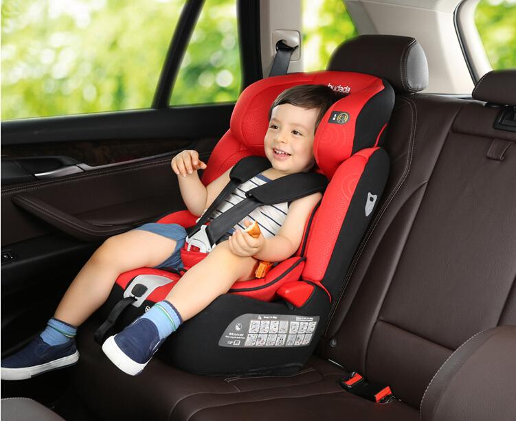 步达达安全座椅佳骑士祥云红9个月-12岁 德国步达达BUDADA儿童安全座椅