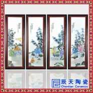 陶瓷瓷板画图片