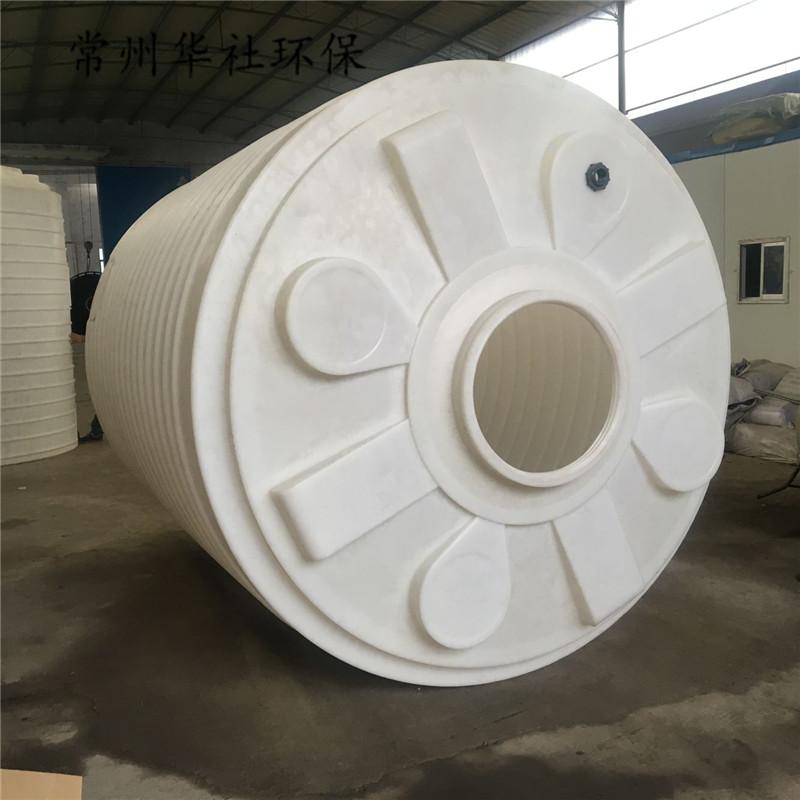 常州华社厂家直销滚塑容器5吨水箱食品级PT水箱 塑料水塔大储水 量大从优 塑料储罐 pe塑料储罐 pe塑料水塔