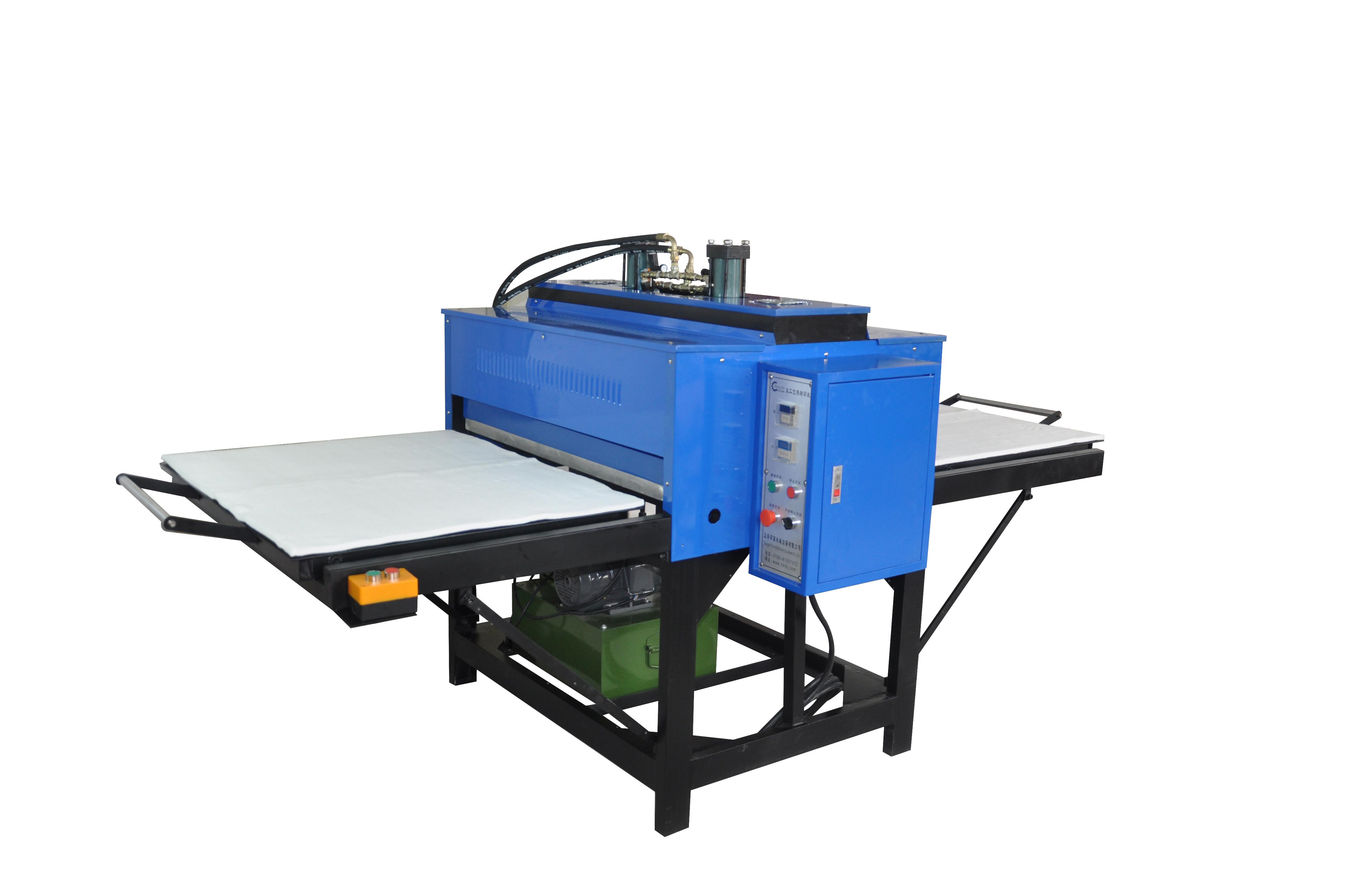 双缸液压升华转印机