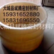 硅橡胶法兰垫片图片