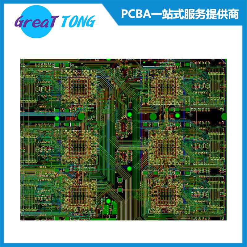 pcb布线 pcb电路板布线设计打样公司就选深圳宏力捷_专业快速