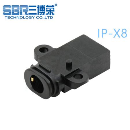 音频插座 ¢3.5沉板式防水IP-X7耳机插座 PJ-438