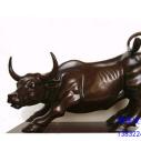 铜雕牛图片