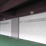 上海型材电动卷帘门,铝合金电动