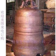 寺庙铜钟图片