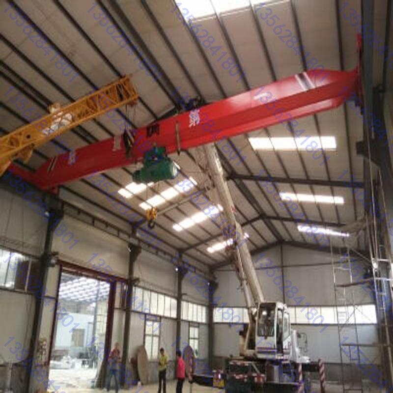 供应5吨电动葫芦单梁行车仓库吊卸货物用小型电动5吨单梁行车车间5吨单梁行车