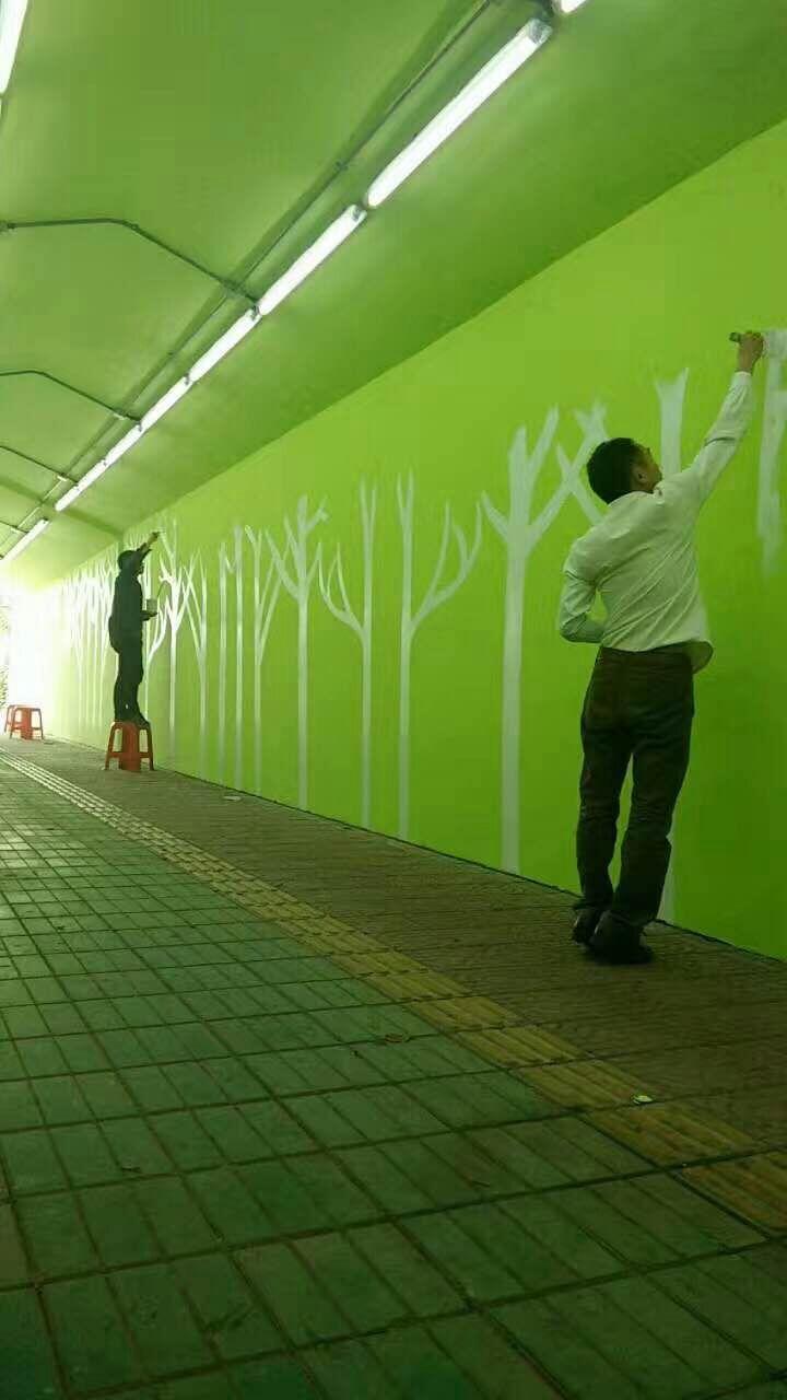 韶关专业壁画、手绘墙画、3D壁画、