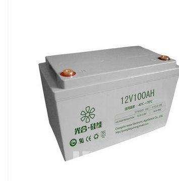 光合硅能蓄电池ups蓄电池家用应急电池工业蓄电池光合硅能蓄电池100