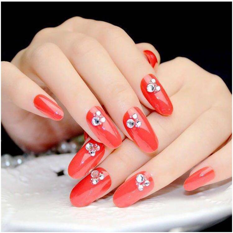 广东红色甲片胶厂家直销  粘贴假指甲片胶   红色甲片胶