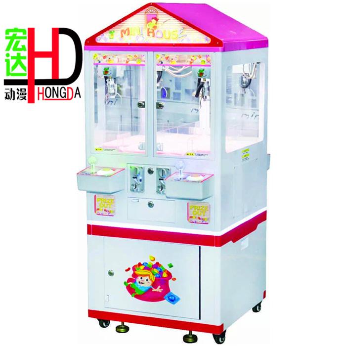 你有没有发现似乎一下子冒出了好多外观统一,颜色可爱的娃娃机?