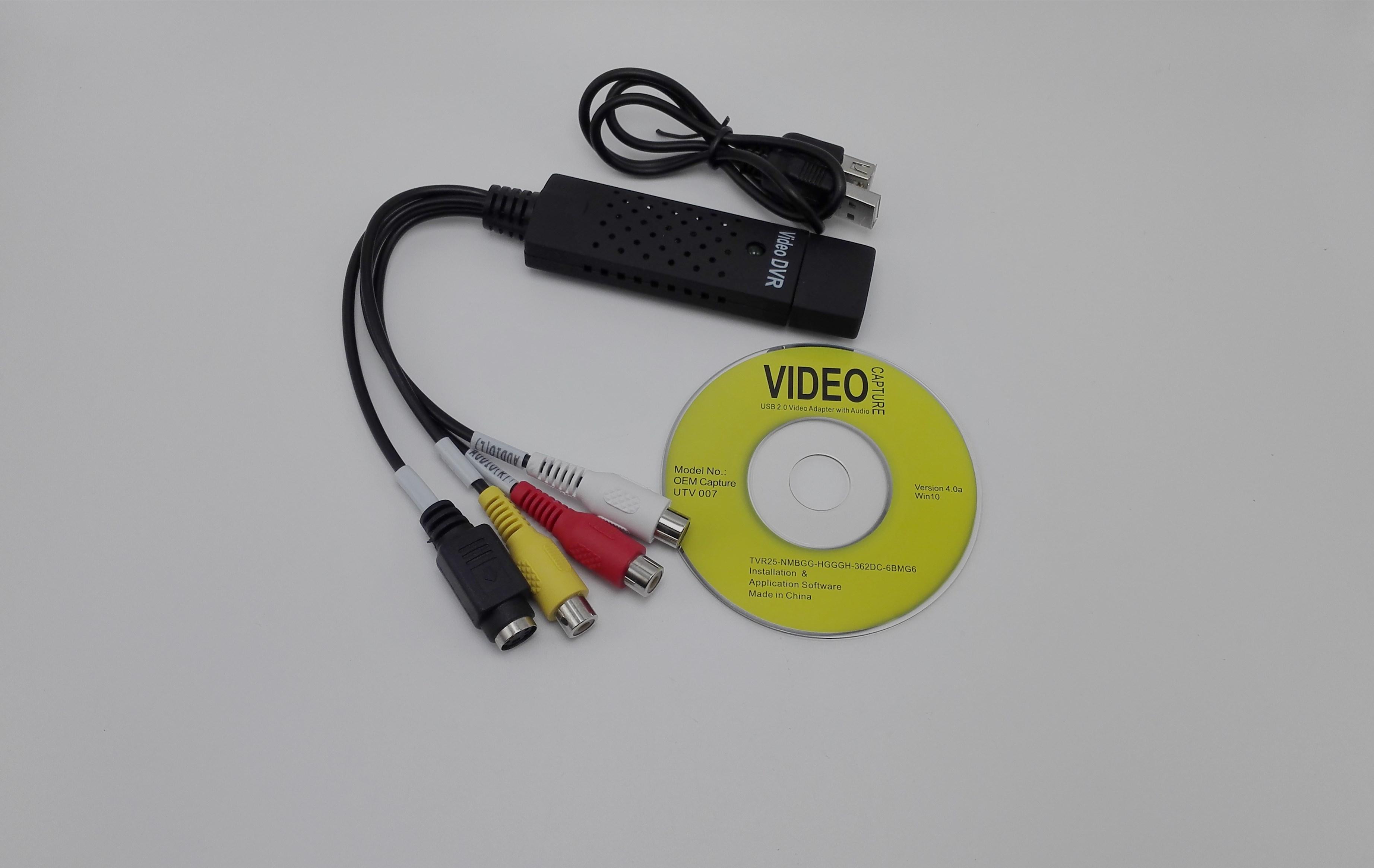 USB视频采集卡 单路视频采集卡