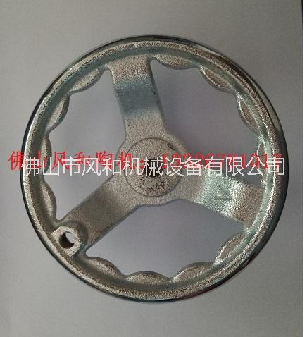 瓷砖加工机通用配件铸铁镀铬手摇轮销售