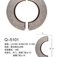 环形雕刻拉手 门窗五金配件 古代风拉手 不锈钢玻璃门拉手 厂家直销批发Q-5101