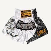 SUNRISE新款 拳击短裤 泰拳裤 搏击散打比赛训练短裤男女