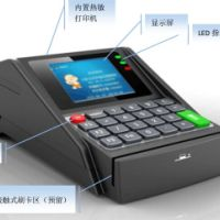 深圳卡联CL-0309台式消费机、会员卡消费系统、小额消费机