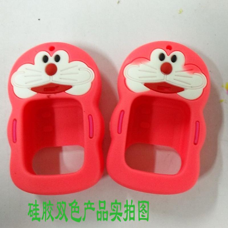 深圳厂家订做电话手表保护套 电话手表双色硅胶保护套  智能式穿戴产品双色多色硅胶保护套