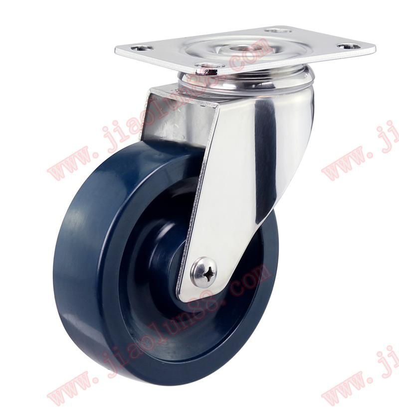 SUS304不锈钢全聚氨酯万向轮图片/SUS304不锈钢全聚氨酯万向轮样板图 (1)