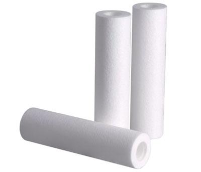 PP棉滤芯 净水器滤芯 广州净水器滤芯厂家 10英寸5微米PP棉滤芯