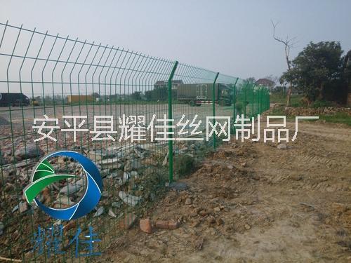耀佳双边丝护栏网安装方便不挑地形