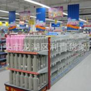 超市货架批发图片