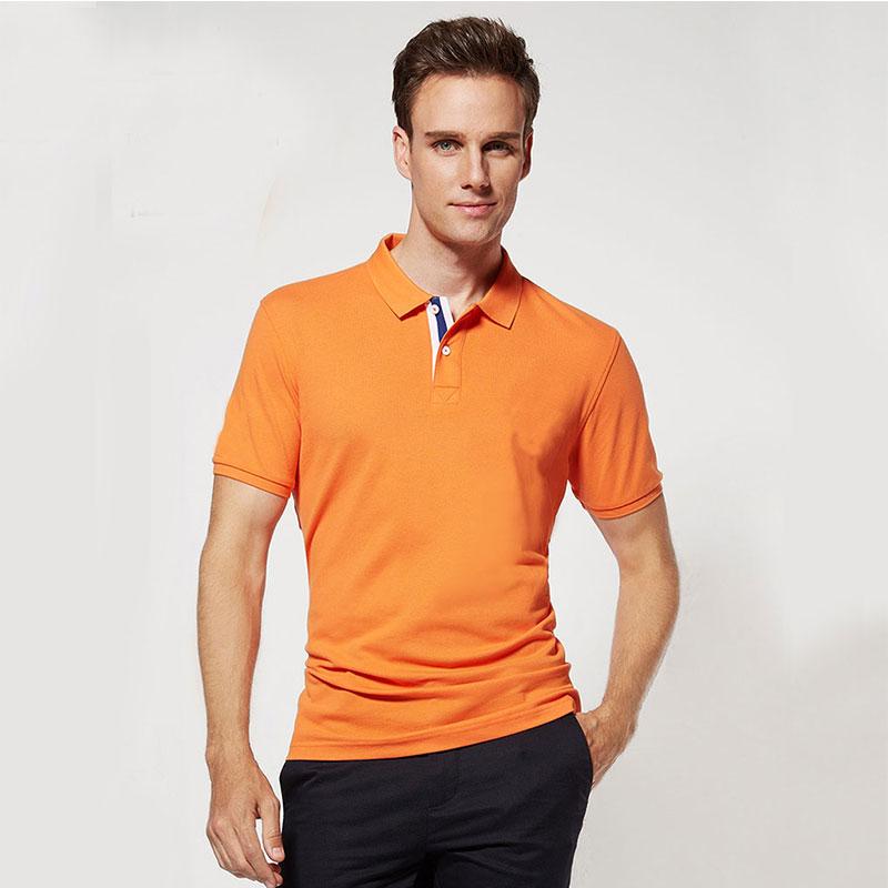 爆款夏季 短袖桑蚕棉Polo 生产定做 企业文化服装 现货供应 欢迎订购 桑蚕棉POLO衫