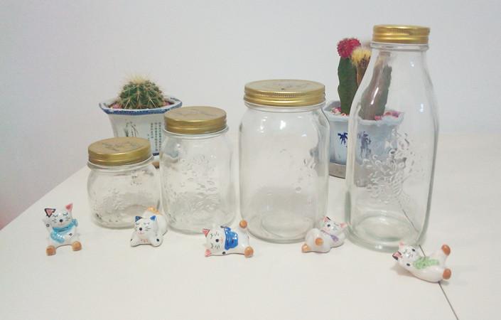 透明玻璃瓶燕窝瓶75ml 150燕窝瓶批发果酱瓶蜂蜜瓶喜蜜