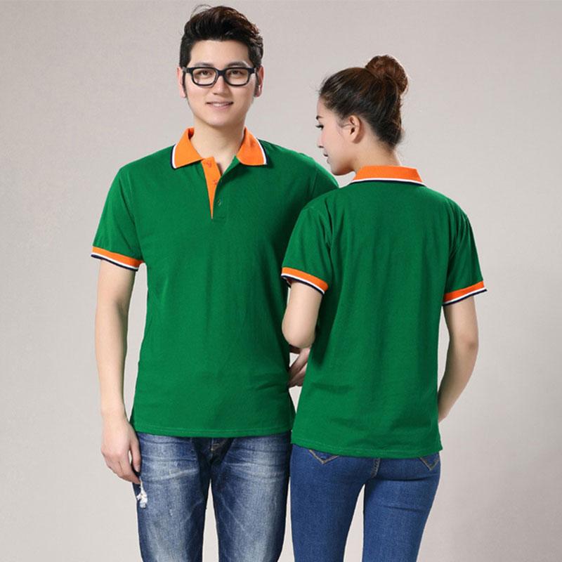 厂家专业定制 拼色领Polo衫出售 爆款时尚 现货供应 欢迎订购